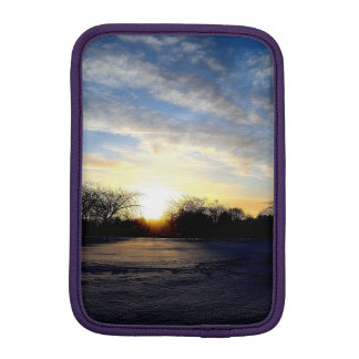 Winter Sunrise Sleeve For iPad Mini
