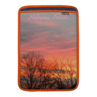 Winter Sunrise/Sunset Mackbook Sleeve