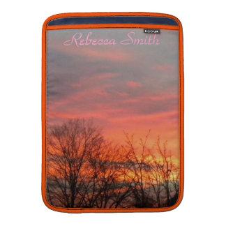 Winter Sunrise/Sunset Mackbook Sleeve MacBook Air Sleeve