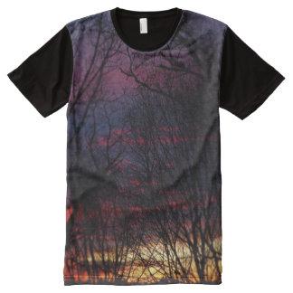 Winter Sunset #1 All-Over Print Shirt