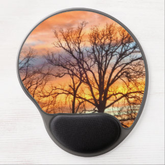 Winter Sunset 1 Gel Mouse Pad