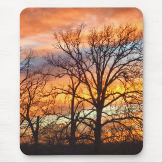 Winter Sunset 1 Mousepad