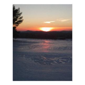 Winter Sunset 2 Letterhead