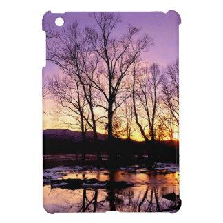 Winter Sunset Cades Cove Mountains iPad Mini Case