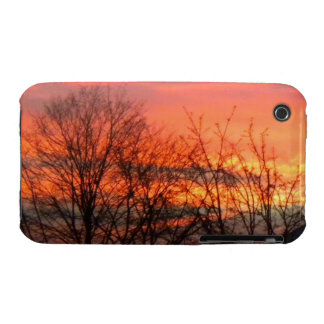 Winter Sunset Case-mate iPhone 3 case
