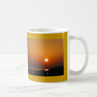 Winter Sunset Galway Bay Ireland Coffee Mug