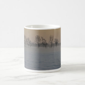 Winter Sunset Classic White Coffee Mug