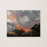 Winter Sunset Nature Landscape Photography Jigsaw Puzzle