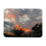 Winter Sunset Nature Landscape Photography Magnet