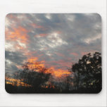 Winter Sunset Nature Landscape Photography Mouse Pad