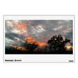 Winter Sunset Nature Landscape Photography Wall Decal