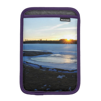 Winter Sunset Sleeve For iPad Mini