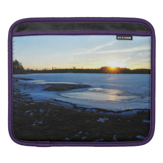 Winter Sunset Sleeve For iPads