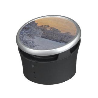 Winter sunset speaker