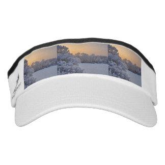 Winter sunset visor