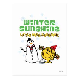 Winter Sunshine Postcard