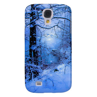 Winter Sunspot Across Lake Samsung Galaxy S4 Cover