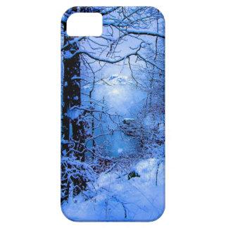 Winter Sunspot Across Lake iPhone SE/5/5s Case