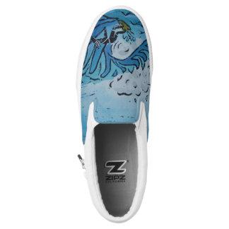 Winter Surfer Slip-On Sneakers