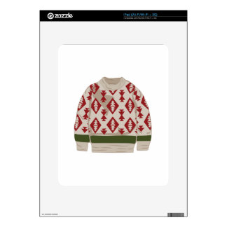 Winter Sweater Decal For iPad