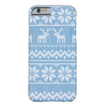 Winter Sweater Knit Phone Cover Barely There iPhone 6 Case