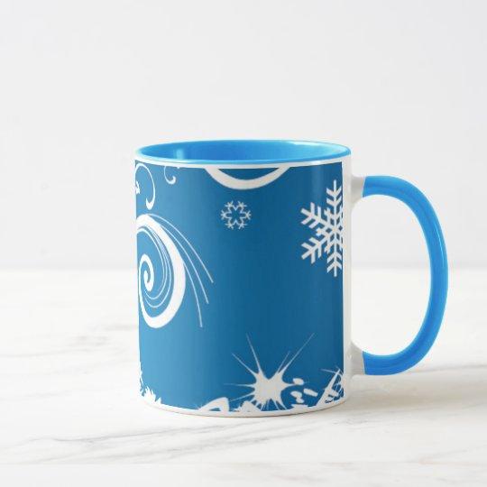 Winter Swirls Mug