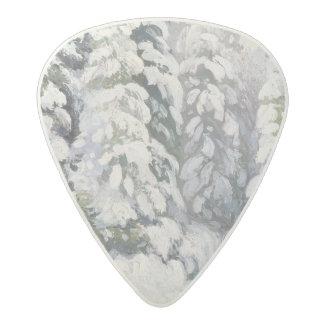Winter Tale, 1913 Acetal Guitar Pick