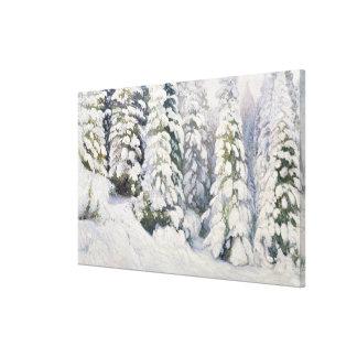 Winter Tale, 1913 Canvas Print