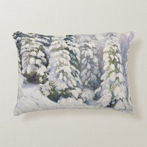 Winter Tale, 1913 Accent Pillow