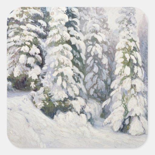 Winter Tale, 1913 Stickers
