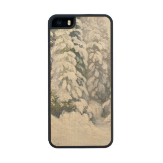 Winter Tale, 1913 Wood Phone Case For iPhone SE/5/5s