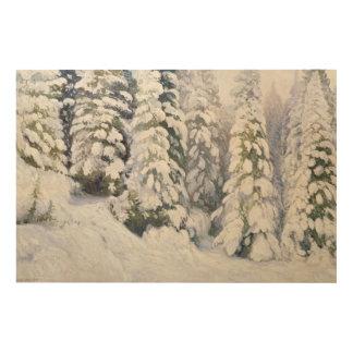 Winter Tale, 1913 Wood Wall Art