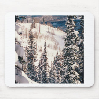 Winter The Calm Before The Storm Brighton Utah Mouse Pad