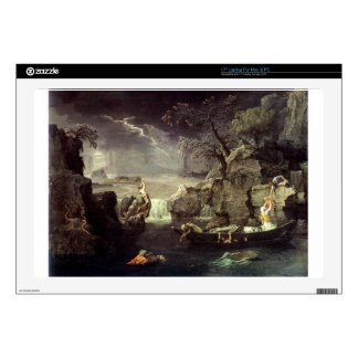 "Winter (The Flood) by Nicolas Poussin 17"" Laptop Skins"
