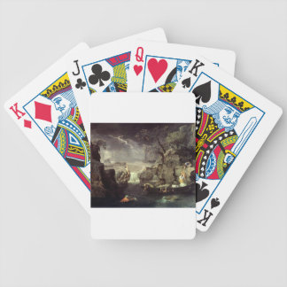 Winter (The Flood) by Nicolas Poussin Bicycle Playing Cards