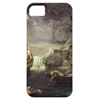 Winter (The Flood) by Nicolas Poussin iPhone SE/5/5s Case