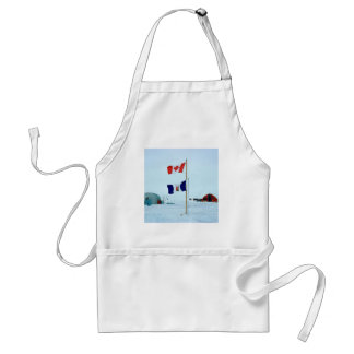 Winter The North Pole Adult Apron