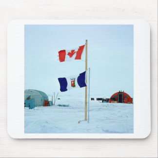 Winter The North Pole Mouse Pads