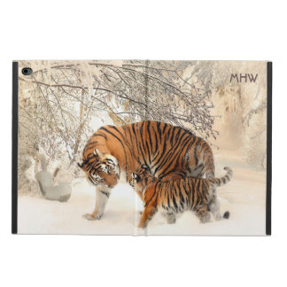 Winter Tigers custom monogram device cases Powis iPad Air 2 Case