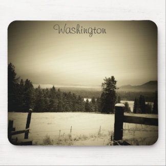Winter time in Washington  by djoneill Mouse Pad