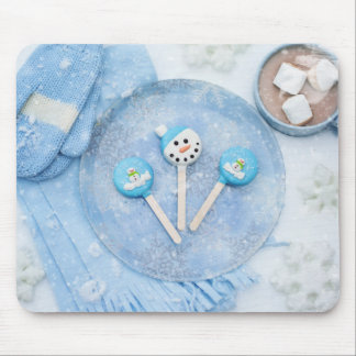 Winter Time Treats and Goodies Mouse Pad