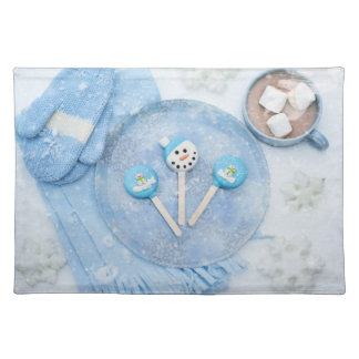 Winter Time Treats and Goodies Placemat