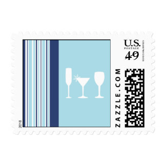 Winter Toast Postage Stamps