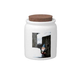 Winter Todd Candy Jar
