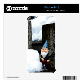 Winter Todd iPhone 4 Decal