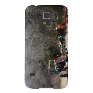 Winter Tractor Galaxy S5 Cover