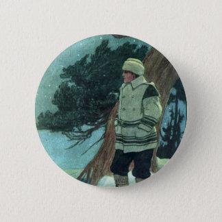 Winter Traveller Button