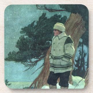 Winter Traveller Drink Coaster