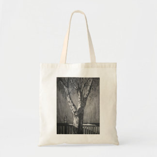 Winter Tree - Charcoal Bags