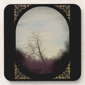Winter Tree Coasters